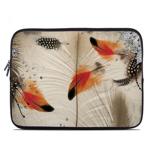 Feather Dance Laptop Sleeve