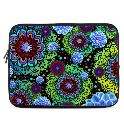 Funky Floratopia Laptop Sleeve