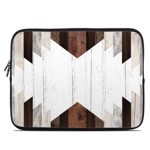 Geo Wood Laptop Sleeve