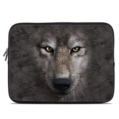 Grey Wolf Laptop Sleeve