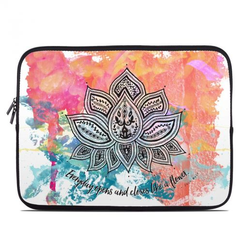 Happy Lotus Laptop Sleeve