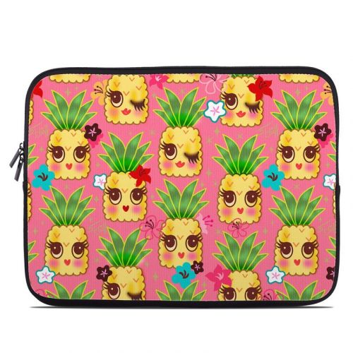 Happy Kawaii Pineapples Laptop Sleeve
