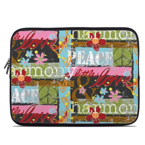 Harmony and Love Laptop Sleeve