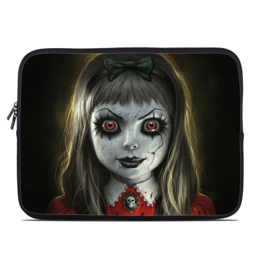 Haunted Doll Laptop Sleeve