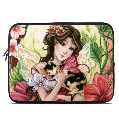 Hibiscus Fairy Laptop Sleeve