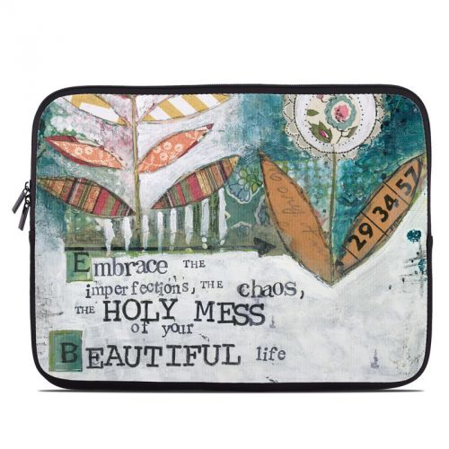 Holy Mess Laptop Sleeve