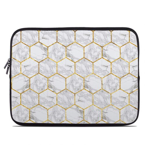 Honey Marble Laptop Sleeve