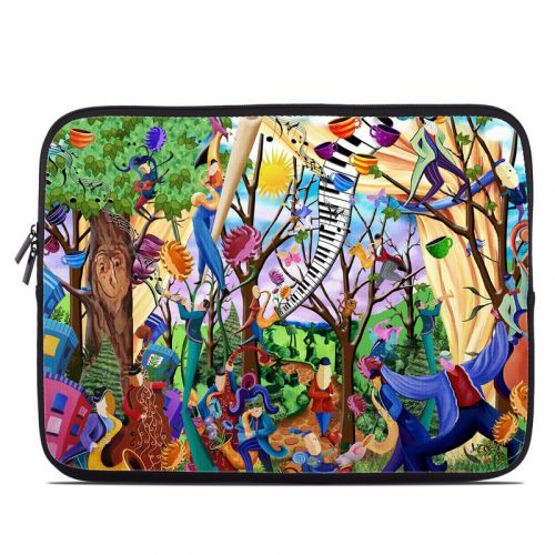 Happy Town Celebration Laptop Sleeve