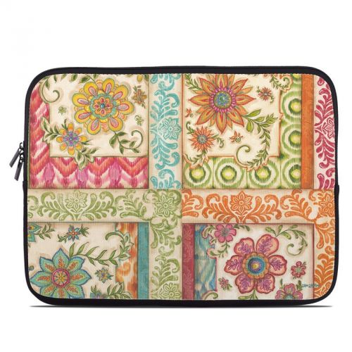 Ikat Floral Laptop Sleeve