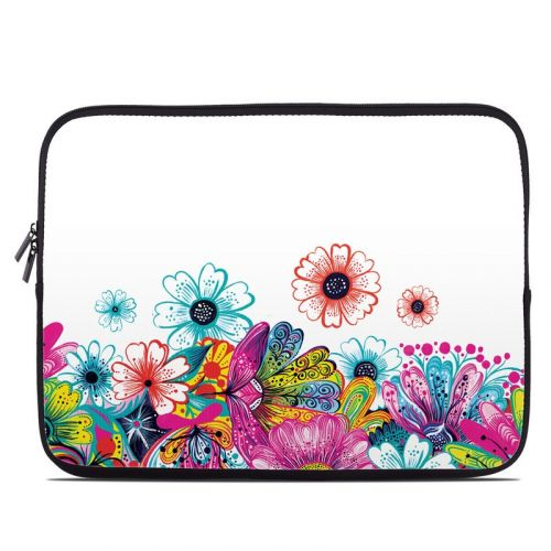 Intense Flowers Laptop Sleeve