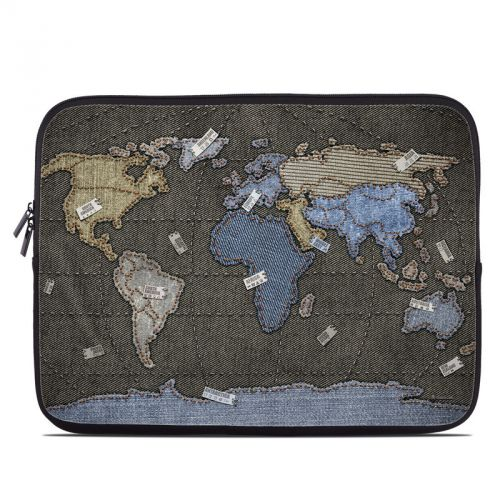 Jean Map Laptop Sleeve