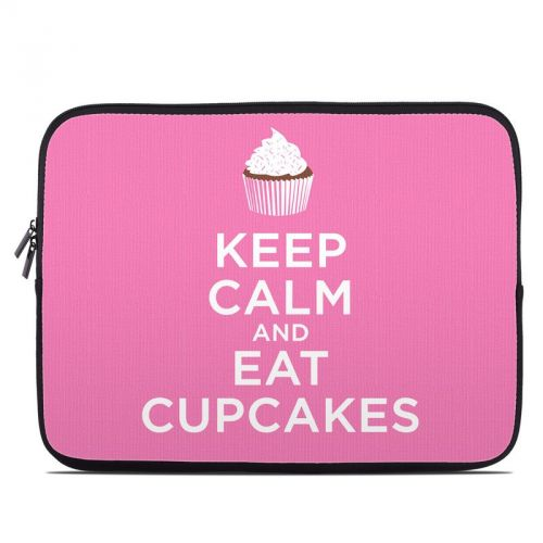 Keep Calm - Cupcakes Laptop Sleeve