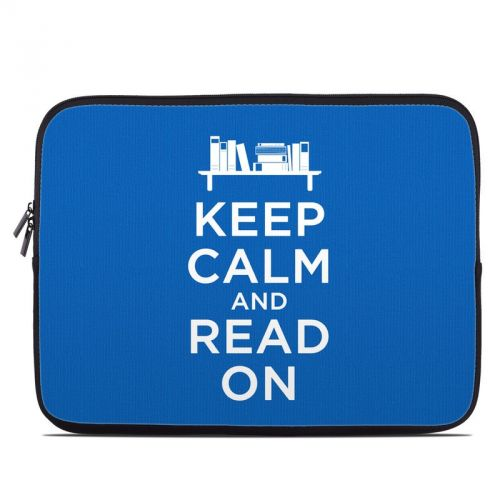Keep Calm - Read Laptop Sleeve