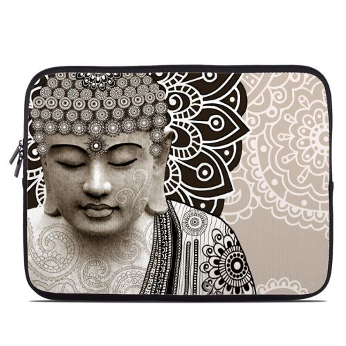 Meditation Mehndi Laptop Sleeve