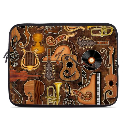 Music Elements Laptop Sleeve