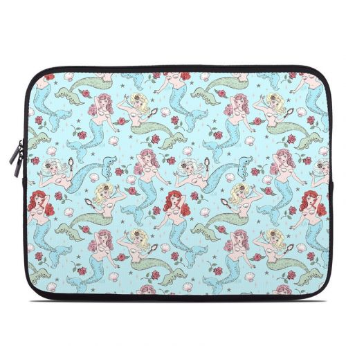 Mermaids and Roses Laptop Sleeve