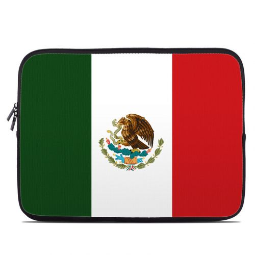 Mexican Flag Laptop Sleeve