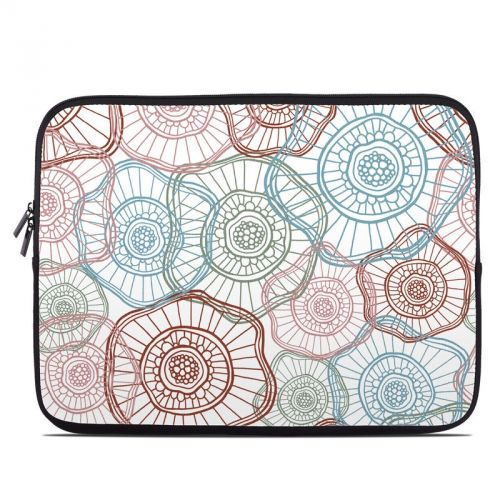 Micro Flowers Laptop Sleeve
