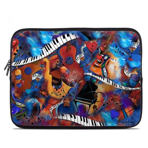 Music Madness Laptop Sleeve