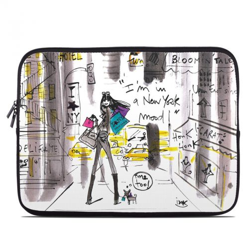 My New York Mood Laptop Sleeve