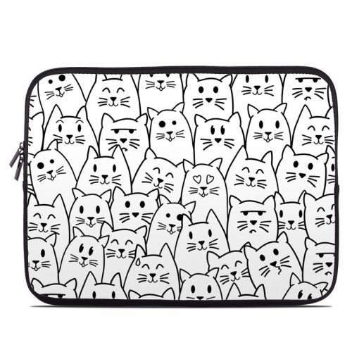 Moody Cats Laptop Sleeve