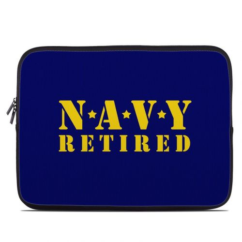 Navy Retired Laptop Sleeve