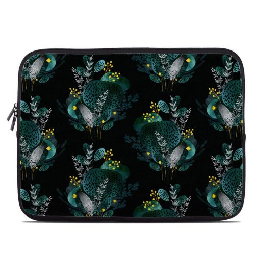 Night Seaflower Laptop Sleeve