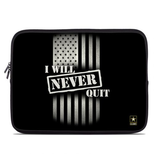 Never Quit Laptop Sleeve