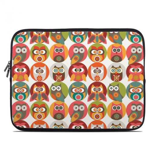 Owls Family Laptop Sleeve