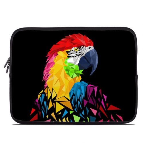 Parrots Hate Jets Laptop Sleeve