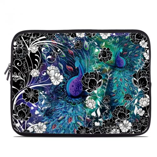 Peacock Garden Laptop Sleeve