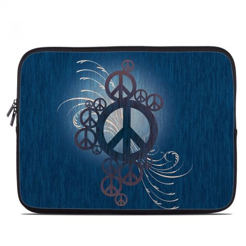 Peace Out Laptop Sleeve