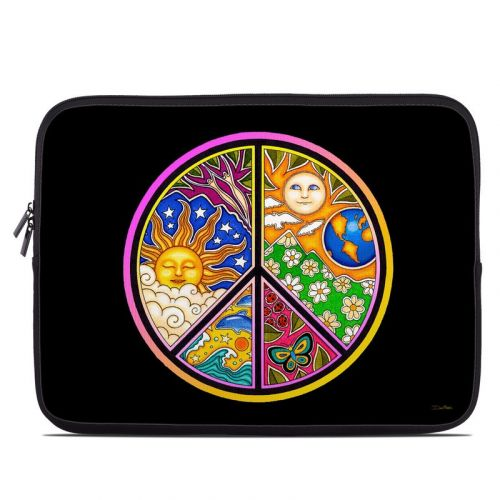 Peace Sign Laptop Sleeve