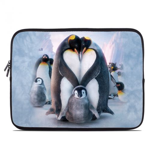 Penguin Heart Laptop Sleeve