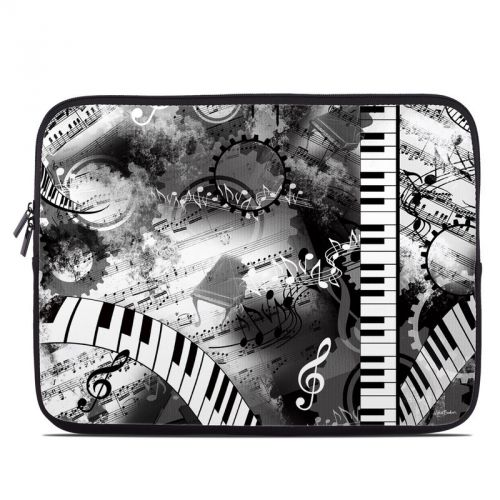 Piano Pizazz Laptop Sleeve