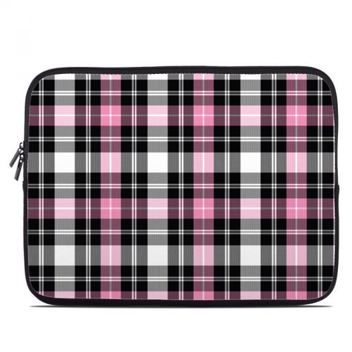 Pink Plaid Laptop Sleeve