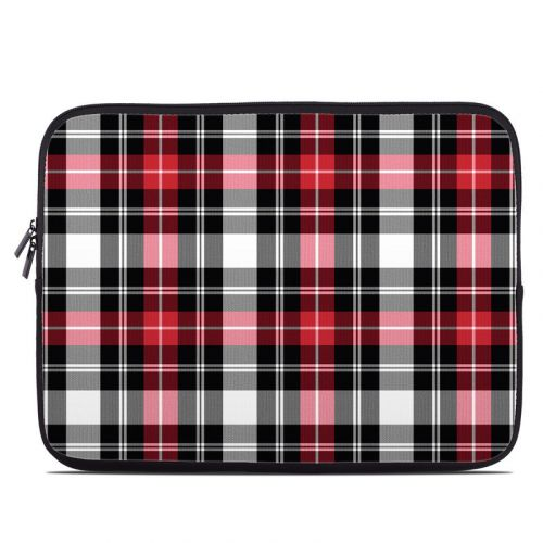 Red Plaid Laptop Sleeve