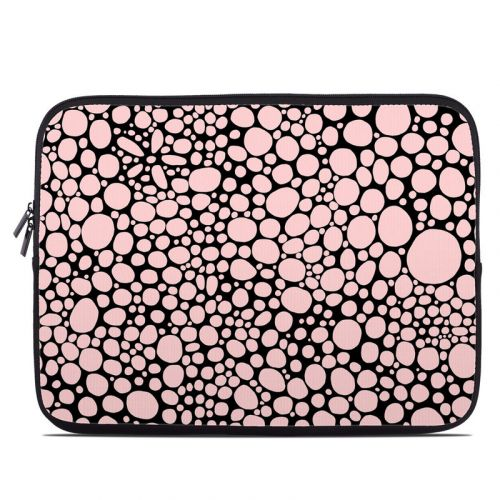 Pink Bubbles Laptop Sleeve