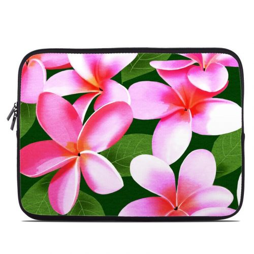 Pink Plumerias Laptop Sleeve