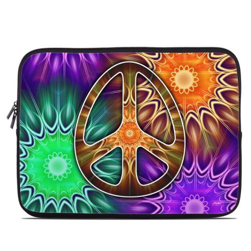 Peace Triptik Laptop Sleeve