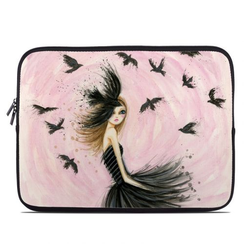Raven Haired Beauty Laptop Sleeve