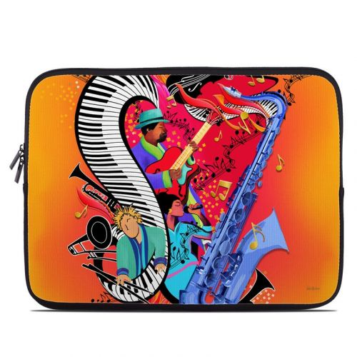 Red Hot Jazz Laptop Sleeve
