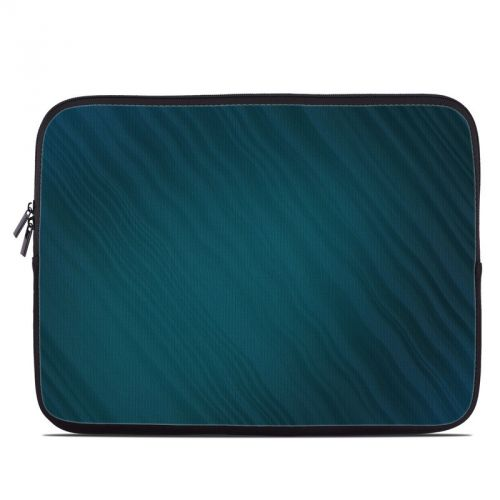 Rhythmic Blue Laptop Sleeve
