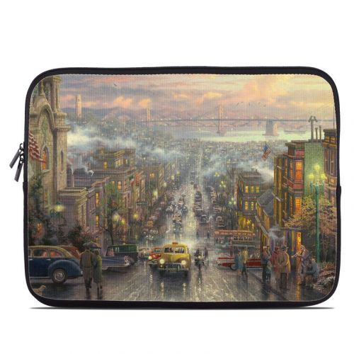 Heart of San Francisco Laptop Sleeve
