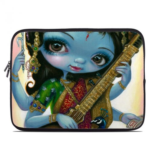 Saraswati Playing Laptop Sleeve