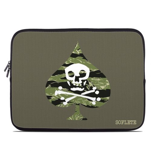 SOFLETE Tiger Stripe Logo Laptop Sleeve