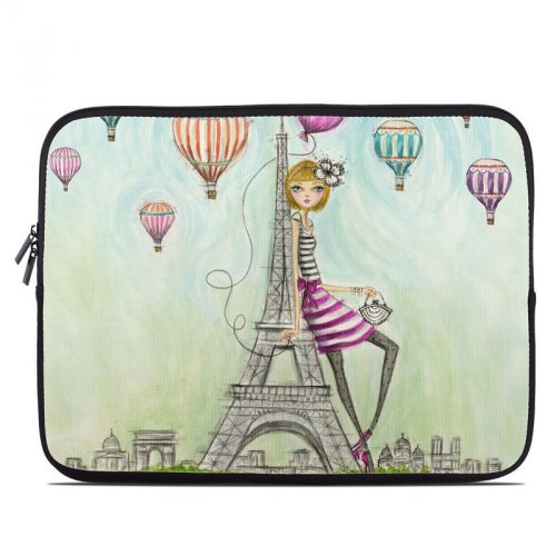 The Sights Paris Laptop Sleeve