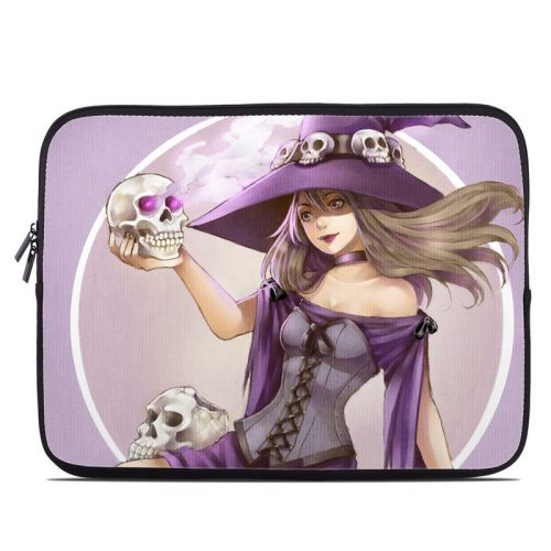 Skull Witch Laptop Sleeve