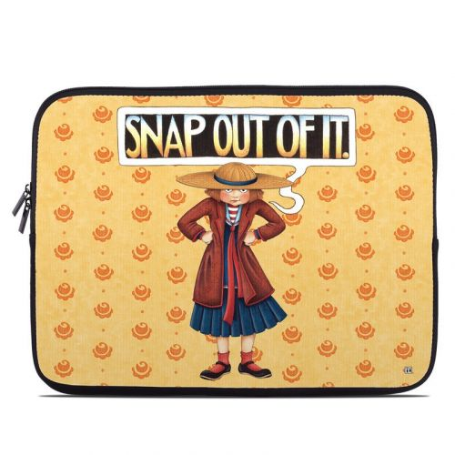 Snap Out Of It Laptop Sleeve