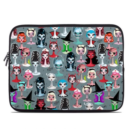 Spooky Dolls Laptop Sleeve